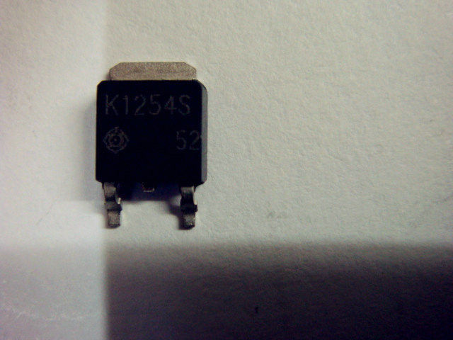 Original Power Mosfet Transistor 2SK1254S Resettable Fuses Electronic Components